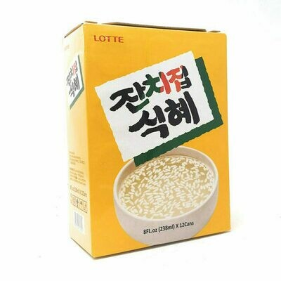 Lotte Rice Puch Gift Set 12 Cans (8 Fl. Oz * 12)