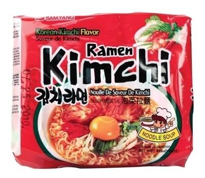 Samyang Kimchi Ramen 5 Packs  (4.23 Oz * 5)