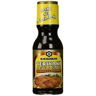 Kikkoman Teriyaki Baste & Glaze With Honey & Pineapple (12.8 Fl. Oz)