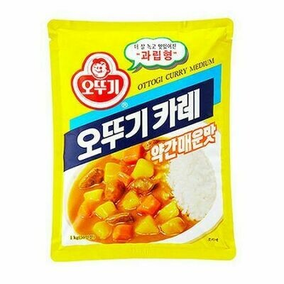 Ottogi Curry Powder Medium Hot (2.2 LB)