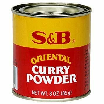 S&B Oriental Curry Powder (3 Oz)