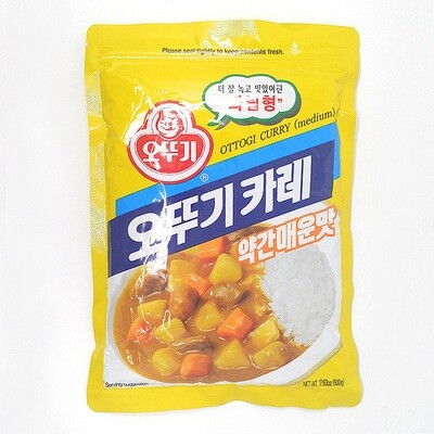 Ottogi Curry Powder Medium Hot (17.64 Oz)