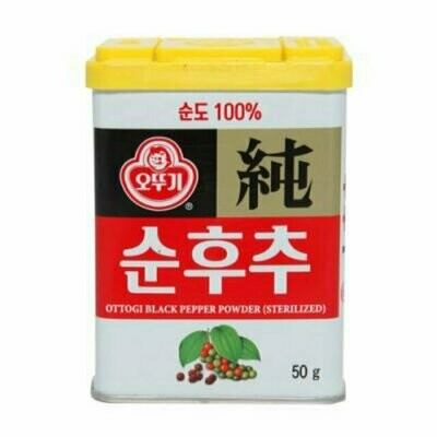 Ottogi Black Pepper Powder (1.76 Oz)