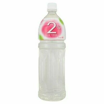 Lotte Soft Drink 2% Peach (1.5 L)