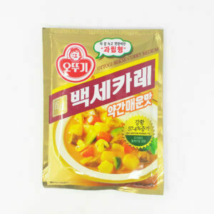 Ottogi Bekse Curry Medium (3.52 Oz)