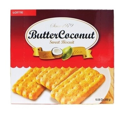 Lotte Butter Coconut Biscuit (10.58 Oz)