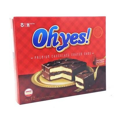 Haetae Oh Yes Choco Cake Original (11.9 Oz)