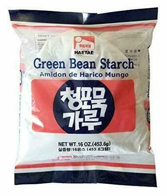 HaeTae Green Bean Starch (16 Oz)