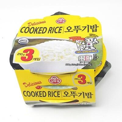 Ottogi Cooked Rice  (7.4 Oz* 3)
