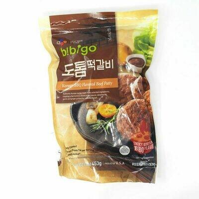 CJ Bibigo Korean BBQ Flavored Beef Patty (16 Oz)