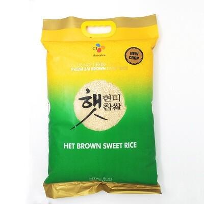 CJ Sweet Brown Rice (15 LBS)