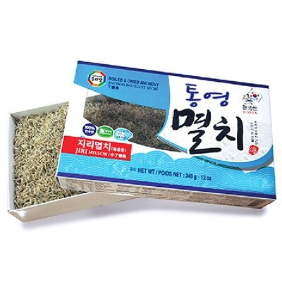Wang Boiled & Dried Anchovy (Jiri) (12 Oz)
