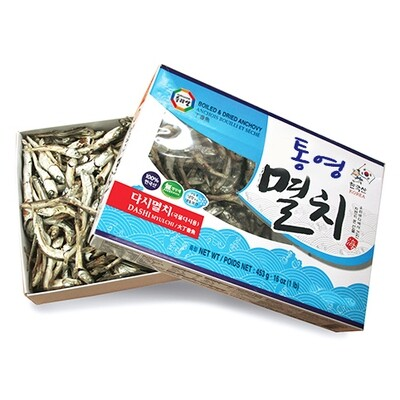Wang Boiled & Dried Anchovy (Dashi) (1 LB)