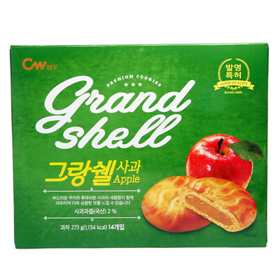 CW Grand Shell Cookie Apple (9.62 OZ)