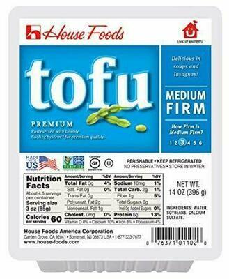 House Foods Medium Firm Tofu (14 Oz)