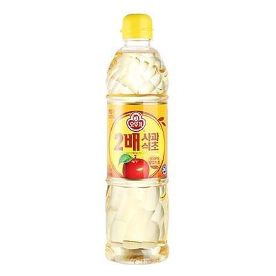 Ottogi Double Apple Vinegar (30.43 Fl. Oz)