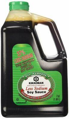 Kikkoman 38% Less Sodium Soy Sauce (2 Qt.)