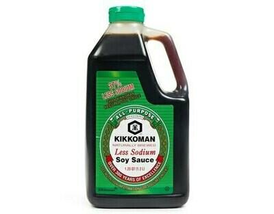 Kikkoman 37% Less Sodium Soy Sauce (1.25 Qt.)