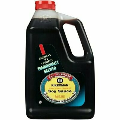 Kikkoman Naturally Brewed Soy Sauce (2 Qt.)