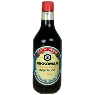 Kikkoman Naturally Brewed Soy Sauce (20 Fl. Oz)