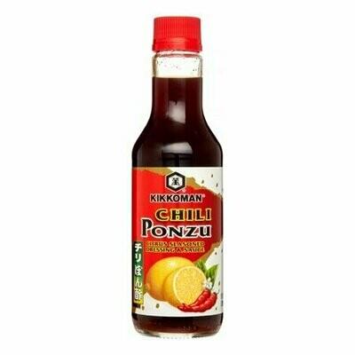 Kikkoman Chili Ponzu Citru Seaseond Dressing & Sauce (10 Fl. Oz)
