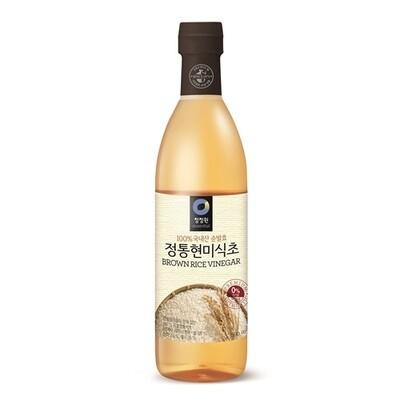ChungJungOne Premium Brown Rice Vinegar (18.93 Fl. Oz)