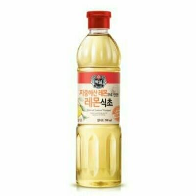 CJ  Lemon Vinegar (16.9 Fl. Oz)