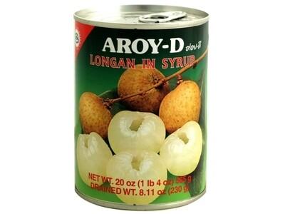 Aroy-D Longan in Syrup (20 Oz)