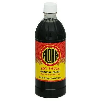 Aloha Soy Sauce Original Blend (24 Fl. Oz)
