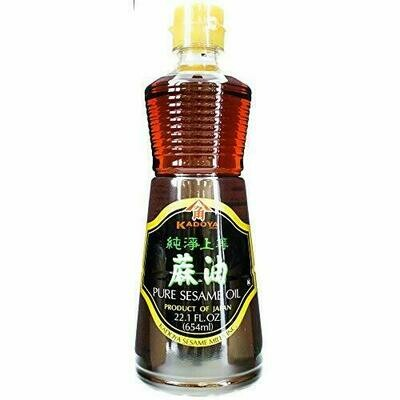 Kadoya Pure Sesame Oil (22.1 Fl. Oz)