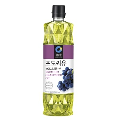 ChungJungOne Premium Grapeseed Oil (30.43 Fl. Oz)
