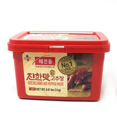 CJ Gochujang Hot Pepper Paste Hot (6.6 LBS)