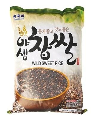 Assi HanKukMi Wild Sweet Rice (5 LBS)