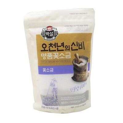 CJ Premium Solar Salt Fine (14.11 Oz)