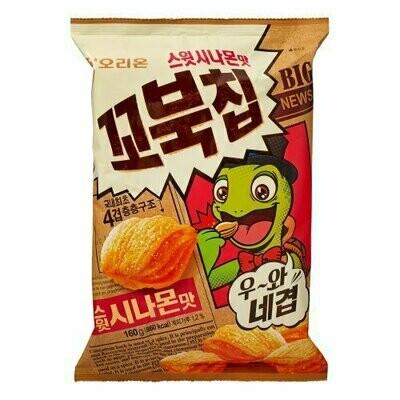 Orion Turtle Chip Sweet Cinnamon (5.64 Oz)
