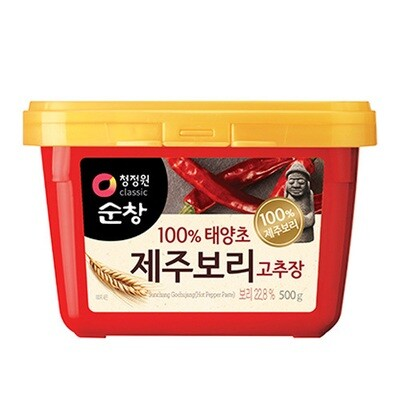 ChungJungOne Hot Pepper Paste wth Jeju Barley  (17.63 Oz)