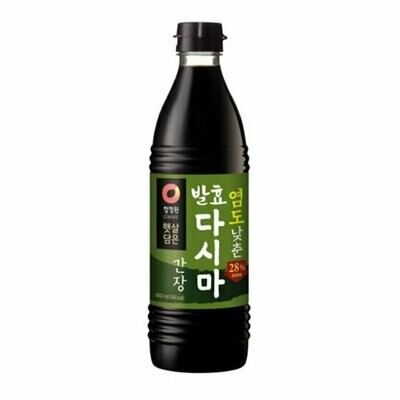 ChungJungOne Less Sodium Seatangle Soy Sauce (28.4 Fl. Oz)