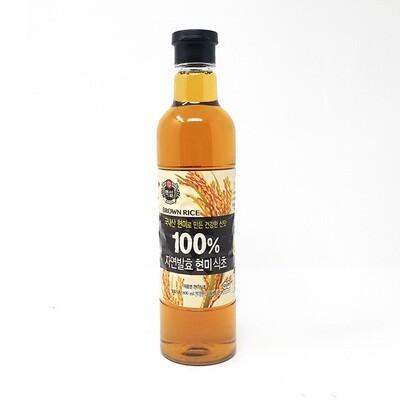 CJ Brown Rice Vinegar  (27.05 Fl. Oz)