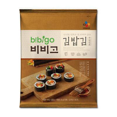 CJ Bibigo Roasted Laver for Kimbap (0.7 Oz)