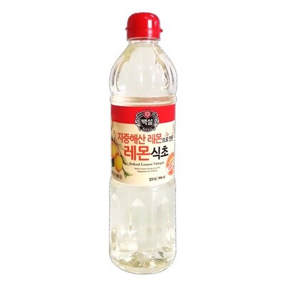 CJ Lemon Vinegar (30.43 Fl. Oz)