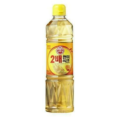 Ottogi Double Brown Rice Vinegar (30.43 Fl. Oz)