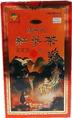 Assi Korea Red Ginseng Tea 30 Bags (3 Oz)