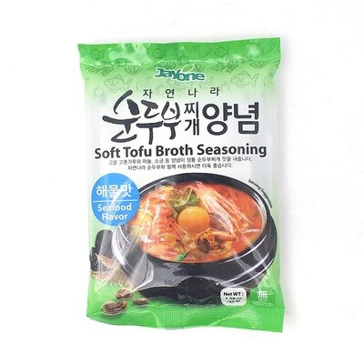 Jayone Tofu Broth Seasoning Seafood (1.58 Oz)
