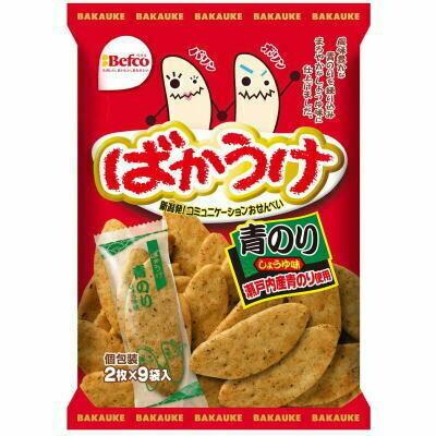 Befco Bakauke Aonori Japanese Rice Cracker (3.52 Oz)