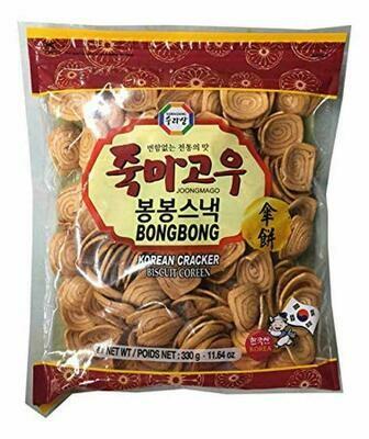 Wang Joongmago BongBong Korean Cracker (11.64 Oz)