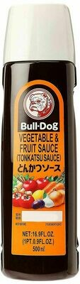 Bull-Dog Vegetable & Fruit Sauce (Tonkatsu Sauce) (16. 9 Fl. Oz.)