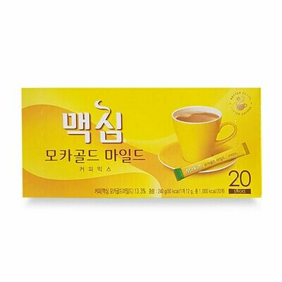 Maxim Mocha Gold Mild Coffee 20 Sticks (8.46 Oz)