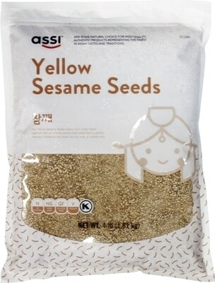 Assi Yellow Sesame Seeds (4 LBS)