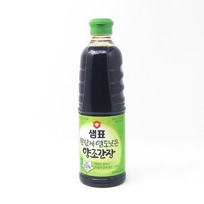 Sempio Naturally Brewed Soy Sauce, Light (31.4 Fl. Oz)