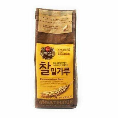 CJ Premium Soft All Purpose Wheat Flour (2.2 LBS)